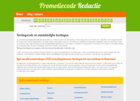 Promotiecode-reductie.net thumbnail