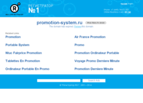 Promotion-system.ru thumbnail