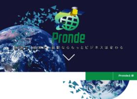 Pronde.jp thumbnail