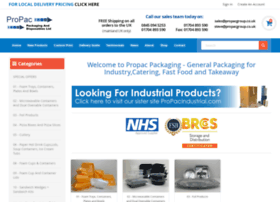 Propacpackaging.co.uk thumbnail