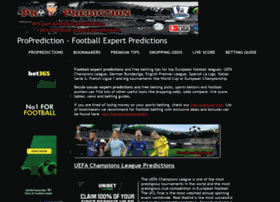 Proprediction.net thumbnail