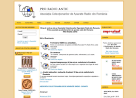 Proradioantic.ro thumbnail
