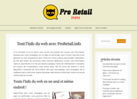 Proretail.info thumbnail