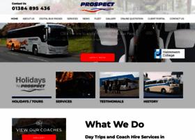 Prospectcoaches.co.uk thumbnail