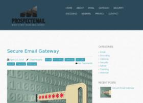 Prospectemail.net thumbnail