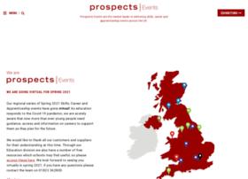 Prospectsevents.co.uk thumbnail