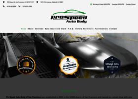 Prospeedautobody.net thumbnail