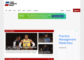 Prosportsdaily.com thumbnail