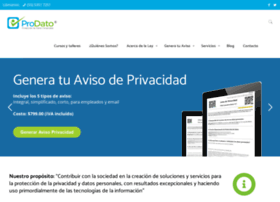 Protecciondedatospersonales.org thumbnail