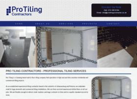 Protilingcontractor.co.za thumbnail