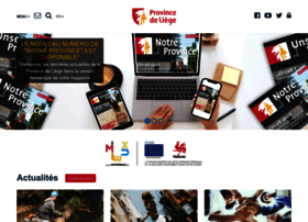 Provincedeliege.be thumbnail