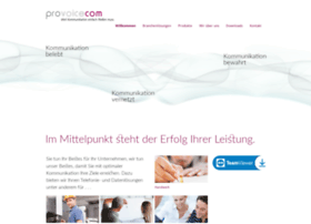 Provoicecom.de thumbnail