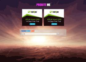 Proxite.me thumbnail