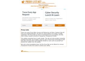 Proxy-list.net thumbnail