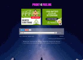 Proxy4free.me thumbnail