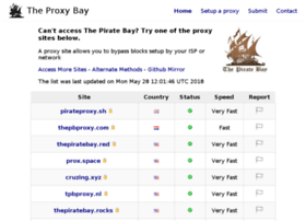Proxybay.info thumbnail