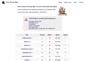Proxybay.page thumbnail