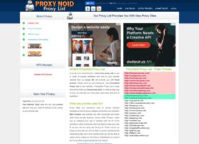 Proxynoid.info thumbnail