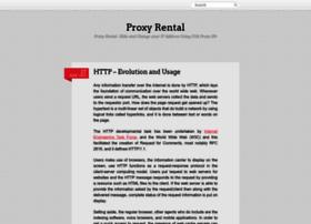 Proxyrental.wordpress.com thumbnail