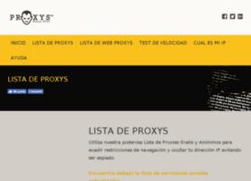 Proxys.com.ar thumbnail