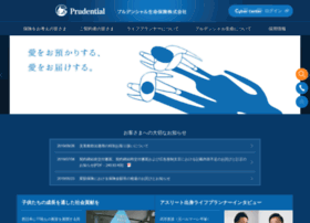 Prudential.co.jp thumbnail