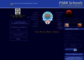 Psbbschools.ac.in thumbnail