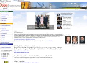 Psc.nd.gov thumbnail