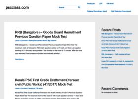 Pscclass.com thumbnail