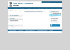 Pscwbonline.gov.in thumbnail