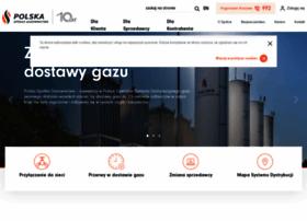 psgaz at WI Polska Spółka Gazownictwa sp z o o