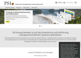 Psi-energymarkets.de thumbnail