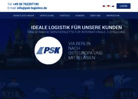 Psk-logistics.de thumbnail