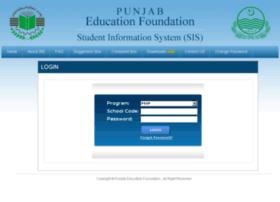 Pssp.pefsis.edu.pk thumbnail