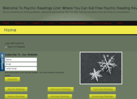 Psychicreadingsline.com thumbnail