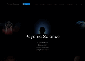 Psychicscience.org thumbnail