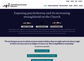 Psychoheresy-aware.org thumbnail