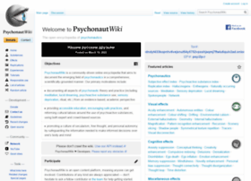 Psychonautwiki.org thumbnail