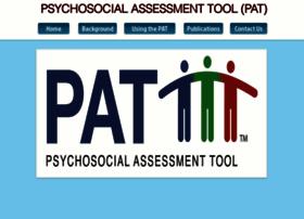 Psychosocialassessmenttool.org thumbnail