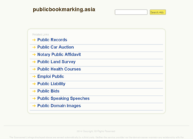 Publicbookmarking.asia thumbnail