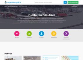 Puertobuenosaires.gob.ar thumbnail