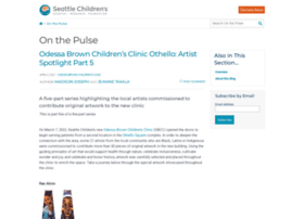 Pulse.seattlechildrens.org thumbnail