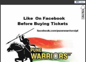 Punewarriorsindia.in thumbnail