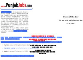 Punjabjobs.info thumbnail