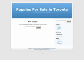 Puppiesforsaleintoronto.ca thumbnail