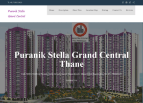 Puranikstellagrandcentral.in thumbnail