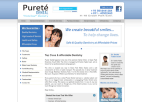 Puretedental.in thumbnail