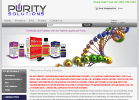 Purity-solutions.net thumbnail