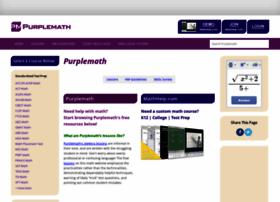 Purplemath.com thumbnail