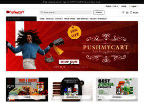 Pushmycart.com thumbnail