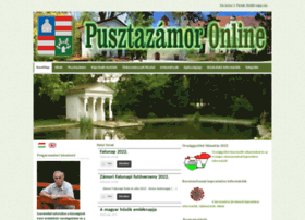 Pusztazamor.hu thumbnail